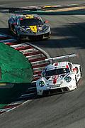 October 30-Nov 1, 2020. IMSA Weathertech Raceway Laguna Seca: #911 Porsche GT Team Porsche 911 RSR, GTLM: Nick Tandy, Fred Makowiecki, #4 Corvette Racing Corvette C8.R, GTLM: Oliver Gavin, Tommy Milner