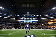prior to an NFL football game \a, Sunday, Sept. 16, 2018, in Arlington, Texas. The XXX defeated the XXX, xx-xx. (Ryan Kang via AP)