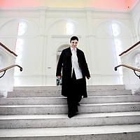 Nederland, Amsterdam , 8 april 2014.<br /> De Duitse Beatrix Ruf wordt de nieuwe directeur van het Stedelijk Museum. Zij volgt Ann Goldstein op die eind vorig jaar vertrok.Ruf is nu nog directeur van de Kunsthalle Zürich. Wel is ze vanaf vandaag al direct betrokken bij het Stedelijk om uiteindelijk in november fulltime in dienst te treden.<br /> Foto:Jean-Pierre Jans