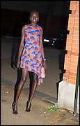 ALEK WEK;  , The Launch of OSMAN the Collective No.3, hosted by Valeria Napoleone, Kensington. 15 May 2014.