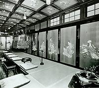 1918 Interior of the Bernheimer Residence. Now Yamashiro Restaurant in Hollywood