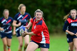 Michaela Roberts of Bristol Rugby Ladies - Mandatory by-line: Dougie Allward/JMP - 25/08/2016 - FOOTBALL - Cleve RFC - Bristol, England - Bristol Rugby Ladies