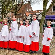 NLD/Naarden//20170414 - Matthaus Passion in de grote kerk van Naarden, Koorknapen