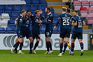 Rosss Draper and team clebrate the opening goal during the Scottish Premiership match between Ross County FC and St Johnstone FC at the Global Energy Stadium, Dingwall, Scotland on 2 January 2021