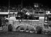"07/08/1980<br /> 08/07/1980<br /> 07 August 1980<br /> R.D.S. Horse Show: John Player International, Ballsbridge, Dublin.  Hendrik Snoek (Germany) on ""Gaylord 6""."
