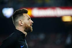 October 21, 2017 - Barcelona, Catalonia, Spain - Leo Messi during La Liga match between FC Barcelona v Malaga CF, in Barcelona, on October 21, 2017. (Credit Image: © Joan Valls/NurPhoto via ZUMA Press)