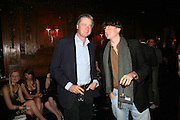 Marquess of Worcester and Lord Johnson Somerset, Tatler's Little Black Book party. Tramp. Jermyn St.  London. 7 November 2007. -DO NOT ARCHIVE-© Copyright Photograph by Dafydd Jones. 248 Clapham Rd. London SW9 0PZ. Tel 0207 820 0771. www.dafjones.com.
