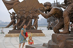 July 31, 2017 - Nanchang, China - Sculptures marking the 90th anniversary of the founding of the Chinese People's Liberation Army (PLA) at a plaza in Nanchang, east China's Jiangxi Province. The sculpture plaza covering an area of about 16,000 square meters was open to the public on Monday.  (Credit Image: © Wan Xiang/Xinhua via ZUMA Wire)