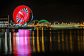 Pearl Jam Light Show - The Seattle Great Wheel