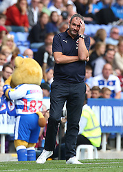 Reading Manager Paul Clement during the pre-season friendly match at the Madejski Stadium, Reading.