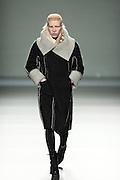 Shaun Ross model catwalk Etxebarria in Mercedes-Benz Fashion Week Madrid 2013