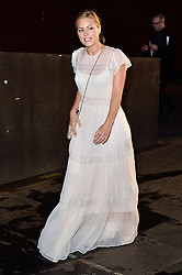 © Licensed to London News Pictures. 02/03/2016. DENISE GOUGH attends the Bright Young Things Gala 2016. The Gala raises funds in support of emerging talent at the National Theatre. London, UK. Photo credit: Ray Tang/LNP