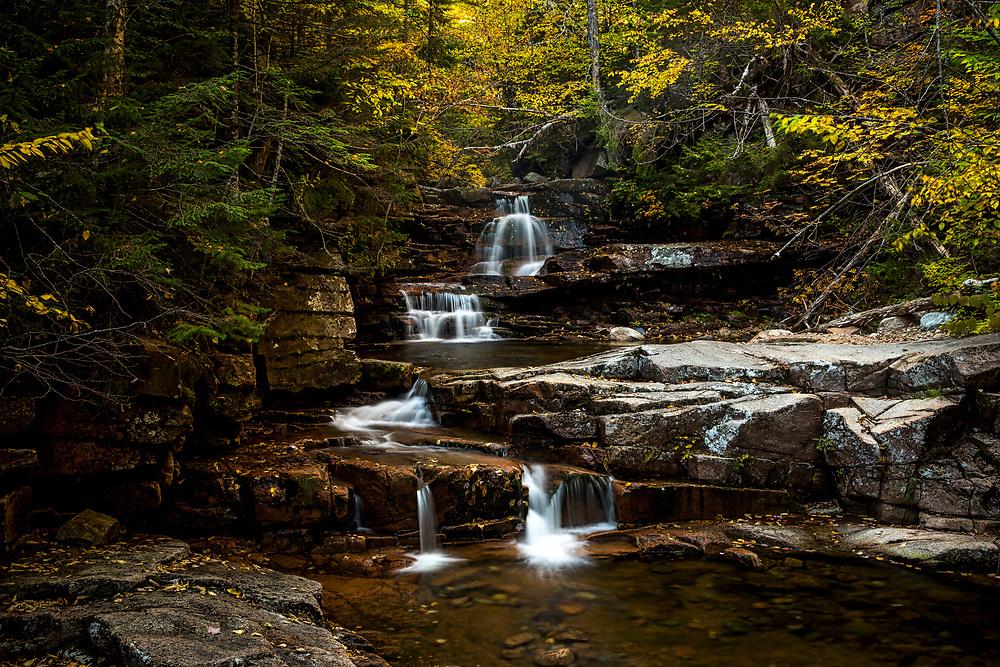 Autumn in Harts Location, New Hampshire.