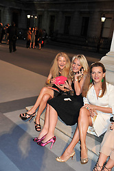 Left to right, KATHERINE FRANCEY; BEATRICE WARRENDER; EMMA ASKARI at the Royal Academy of Arts Summer Exhibition Preview Party at Burlington House, Piccadilly, London on 2nd June 2011.