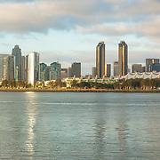 San Diego skyline from Coronado. San Diego, CA.