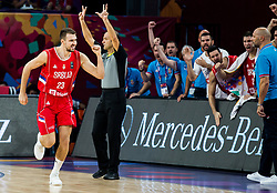 Marko Guduric of Serbia reacts during the Final basketball match between National Teams  Slovenia and Serbia at Day 18 of the FIBA EuroBasket 2017 at Sinan Erdem Dome in Istanbul, Turkey on September 17, 2017. Photo by Vid Ponikvar / Sportida