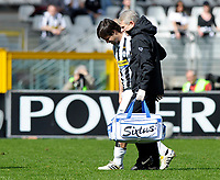 Diego (Juventus) esce dal campo per infortunio<br /> Torino 28/03/2010 Stadio Olimpico<br /> Juventus Atalanta - Campionato di Serie A Tim 2009-10.<br /> Foto Giorgio Perottino / Insidefoto