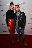 Elena Ghenoiu and Luke Daniels at Los Angeles Premiere Of 'Untogether' held at Frida Restaurant on February 08, 2019 in Sherman Oaks, California, United States (Photo by JC Olivera)