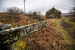 Sheilas Cottage on the island. Feature on the community on the island of Ulva, who have been awarded £4.4m in funding for their island buyout.