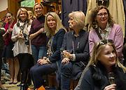 Tatler and Dubarry host an evening with Clare Balding, Dubarry of Ireland, 34 Duke of York's Sq. London. 13 October 2016.