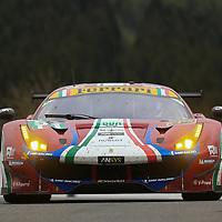 #51, AF Corse, Ferrari 488 GTE, driven by, James Calado, Alessandro Pier Guidi, FIA WEC 6hrs of Spa 2017, 06/05/2017,