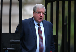 © Licensed to London News Pictures. 24/11/2015. London, UK.  Patrick McLoughlin, Secretary of State for Transport, arrives for a cabinet meeting in Downing Street. Photo credit: Peter Macdiarmid/LNP
