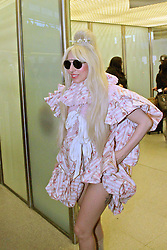 Lady Gaga arrives in Berlin. <br /> 60631442<br /> Lady Gaga arrives at Berlin-Tegel Airport, Berlin, Germany, Wednesday, 23rd October 2013. Picture by  imago / i-Images<br /> UK ONLY