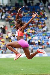 Samsung Diamond League adidas Grand Prix track & field; Womens Triple Jump, Kimberly Williams, JAM