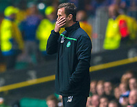05/11/15 UEFA EUROPA LEAGUE GROUP STAGE<br /> CELTIC v MOLDE FK<br /> CELTIC PARK - GLASGOW<br /> Celtic manager Ronny Deila