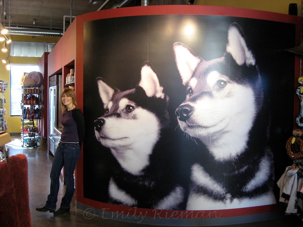 Emily Rieman at Scraps Pet Supply in Seattle.