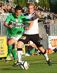 21.04.2012, Pappelstadion, Mattersburg, AUT, 1. FBL, SV Mattersburg vs FC Trenkwalder Admira Wacker, im Bild Christian Gartner, (SV Mattersburg, #15)  Bernhard Schachner, (Trenkwalder Admira, #8) // during the Austrian Bundesliga Match, SV Mattersburg against FC Trenkwalder Admira Wacker, Stadium, Pappelstadion Mattersburg, Austria on 2012-04-21, EXPA Pictures © 2012, PhotoCredit: EXPA/ Stephan Woldron