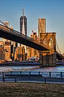 Brooklyn Bridge, Empire Fulton Ferry Park