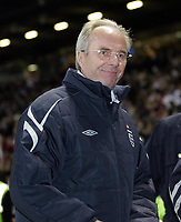 Photo: Paul Thomas.<br /> England v Hungary. International Friendly. 30/05/2006.<br /> <br /> Sven-Goran Eriksson, England manager, leaves the ground a happy man after their 3 -1 victory.