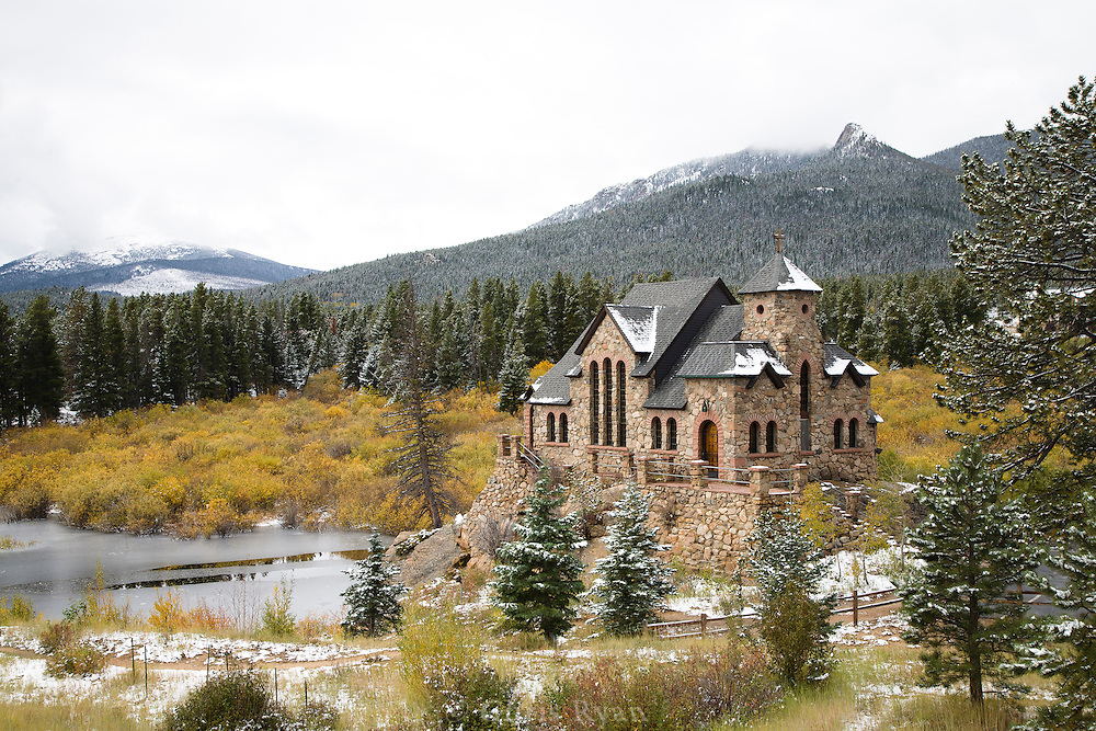 The Chapel on the Rock at St. Malo, Colorado