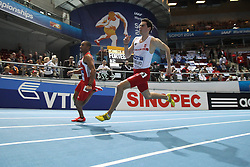 07.03.2014, Ergo Arena, Sopot, POL, IAAF, Leichtathletik Indoor WM, Sopot 2014, Tag 1, im Bild Rafal Omelko (POL) // Rafal Omelko (POL) during day one of IAAF World Indoor Championships Sopot 2014 at the Ergo Arena in Sopot, Poland on 2014/03/07. EXPA Pictures © 2014, PhotoCredit: EXPA/ Newspix/ Adam Jastrzebowski<br /> <br /> *****ATTENTION - for AUT, SLO, CRO, SRB, BIH, MAZ, TUR, SUI, SWE only*****