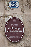 The Palace where the author of Il Gattopardo lived