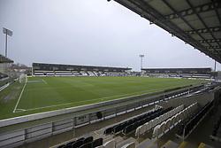 A general view of St Mirren Park before the Ladbrokes Scottish Premier League match between St Mirren and Rangers.