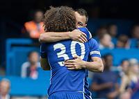 Football - 2016 / 2017 Premier League - Chelsea vs. Sunderland <br /> <br /> John Terry of Chelsea and David Luiz hug at Stamford Bridge.<br /> <br /> COLORSPORT/DANIEL BEARHAM