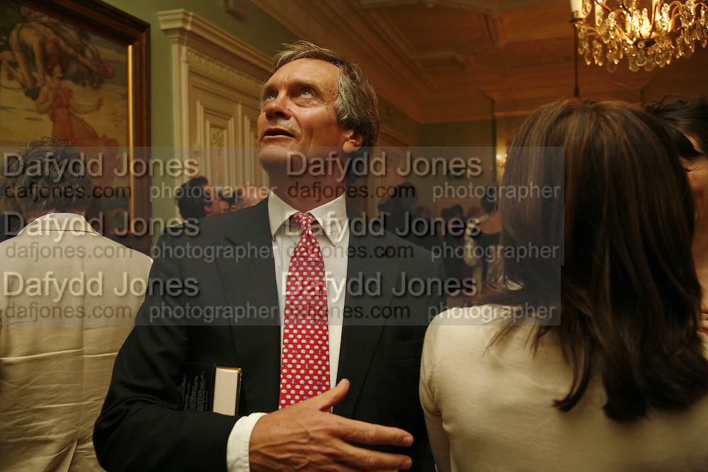 Charles Delavigne, Book launch of 'A Much Married Man' by Nicholas Coleridge. English Speaking Union. London. 4 May 2006. ONE TIME USE ONLY - DO NOT ARCHIVE  © Copyright Photograph by Dafydd Jones 66 Stockwell Park Rd. London SW9 0DA Tel 020 7733 0108 www.dafjones.com