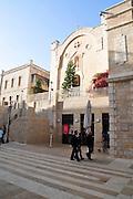 Israel, Jerusalem, Mamilla, Hospice Saint Vincent de Paul