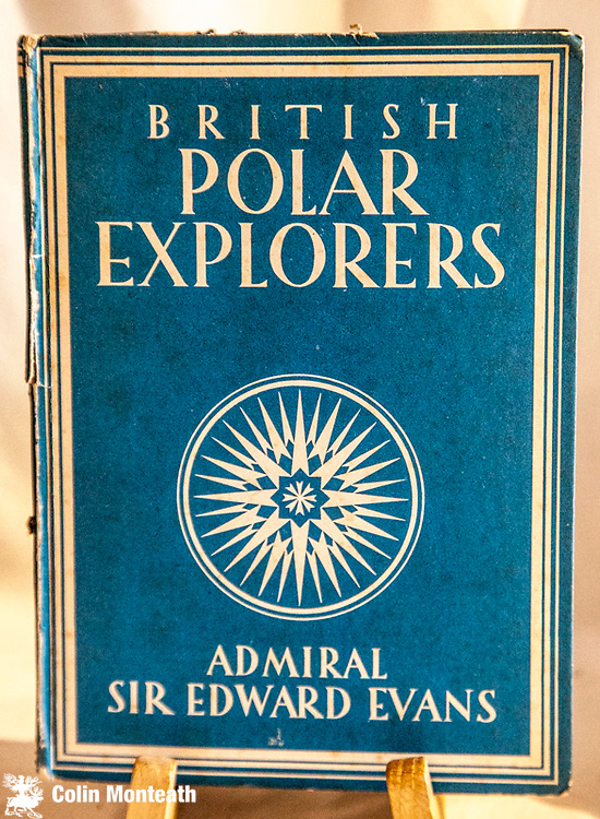 BRITISH POLAR EXPLORERS, Admiral Sir Edward Evans, Collins, London, 1943 - 47 page hardback, no jacket, rough around edges and spine weak/separating/missing fep - but complete inside - great historic plates and paintings - chapters range from expeditions by  Frobisher, SirJohn Ross, John Davis, Henry Hudson, Sir James Clarke Ross and Shackleton...an early and most useful overview - priced accordingly $NZ25