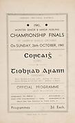 Munster Senior and Minor Hurling Championship Final, held at Croke Park, Dublin, Ireland..26101941MMHCF..26.10.1941, 10.26.1941, 26th October 1941, ..MInor Cork v Tipperary,