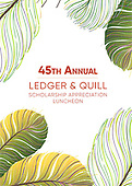 45th Annual Ledger & Quill Scholarship Appreciation Luncheon
