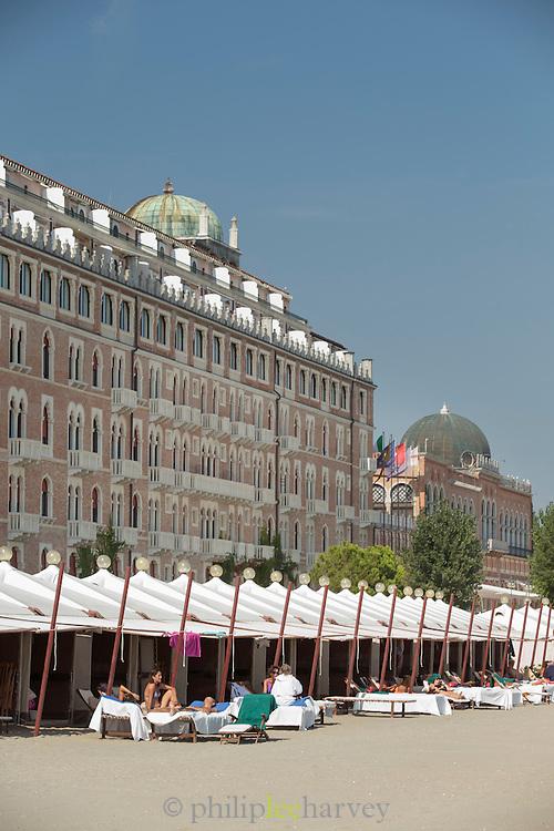 Hotel Excelsior Via Sandro Gallo, Lido.Venice, Italy, Europe