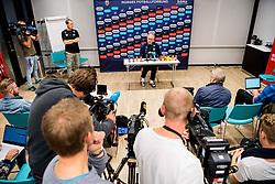 October 10, 2018 - Oslo, NORWAY - 181010 Lars Lagerbäck, head coach of Norway, during a press event on October 10, 2018 in Oslo..Photo: Jon Olav Nesvold / BILDBYRÃ…N / kod JE / 160324 (Credit Image: © Jon Olav Nesvold/Bildbyran via ZUMA Press)