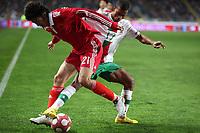 20100303: COIMBRA, PORTUGAL - Portugal vs China: International Friendly. In picture: Nani (Portugal) and Yu Hai (China). PHOTO: CITYFILES
