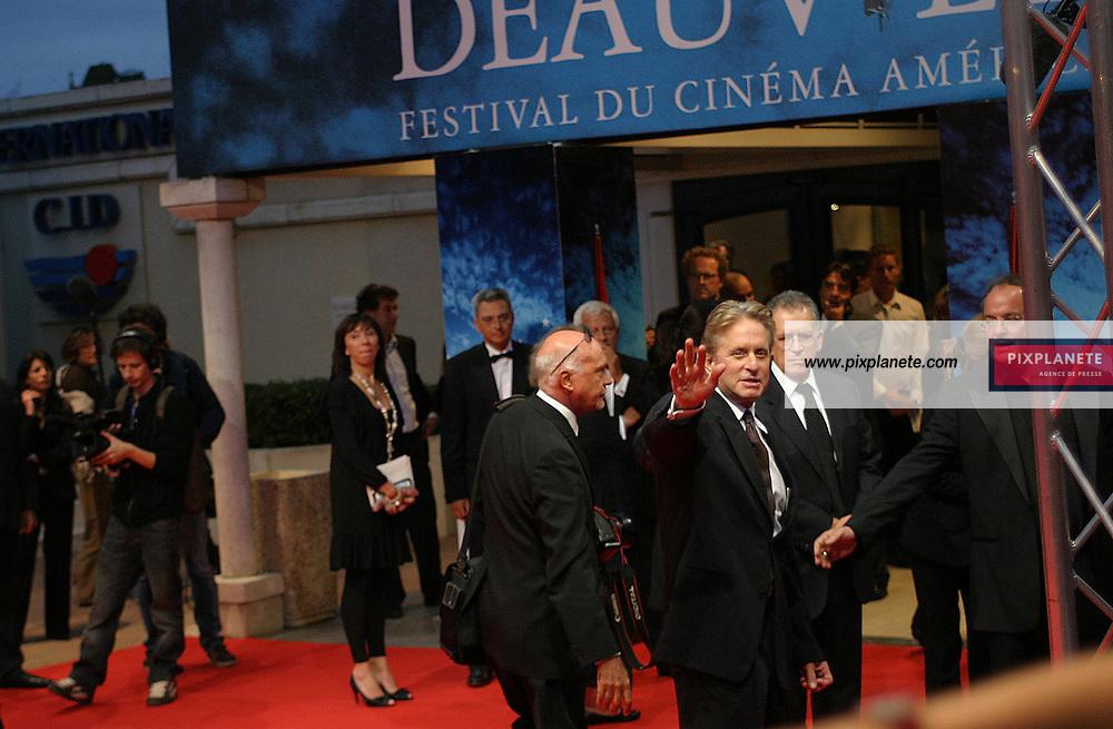 Michael Douglas - vendredi 31/08/2007 - - 33 ème Festival du film américain de Deauville - 2/09/2007 - JSB / PixPlanete