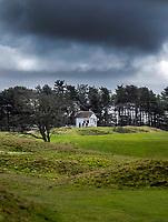 WASSENAAR - Haagsche Golfclub, caddiemaster, huis, huisje,    COPYRIGHT KOEN SUYK
