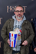 Alex de la Iglesia at The Hobbit premiere in Madrid