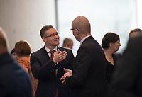 DEU, Deutschland, Germany, Berlin, 26.09.2017: Sebastian Münzenmaier  (MdB, AfD) vor der ersten Fraktionssitzung der AfD-Bundestagsfraktion im Deutschen Bundestag.